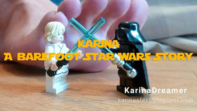 Karina Feet Star Wars Lego Foot Fetish Lego Barefoot Soles Toes Woman Female