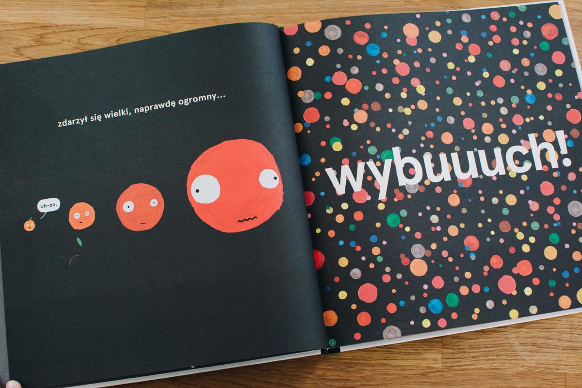 Zdjęcie z wnętrza książki Jak się tu znaleźliśmy Philip Bunting