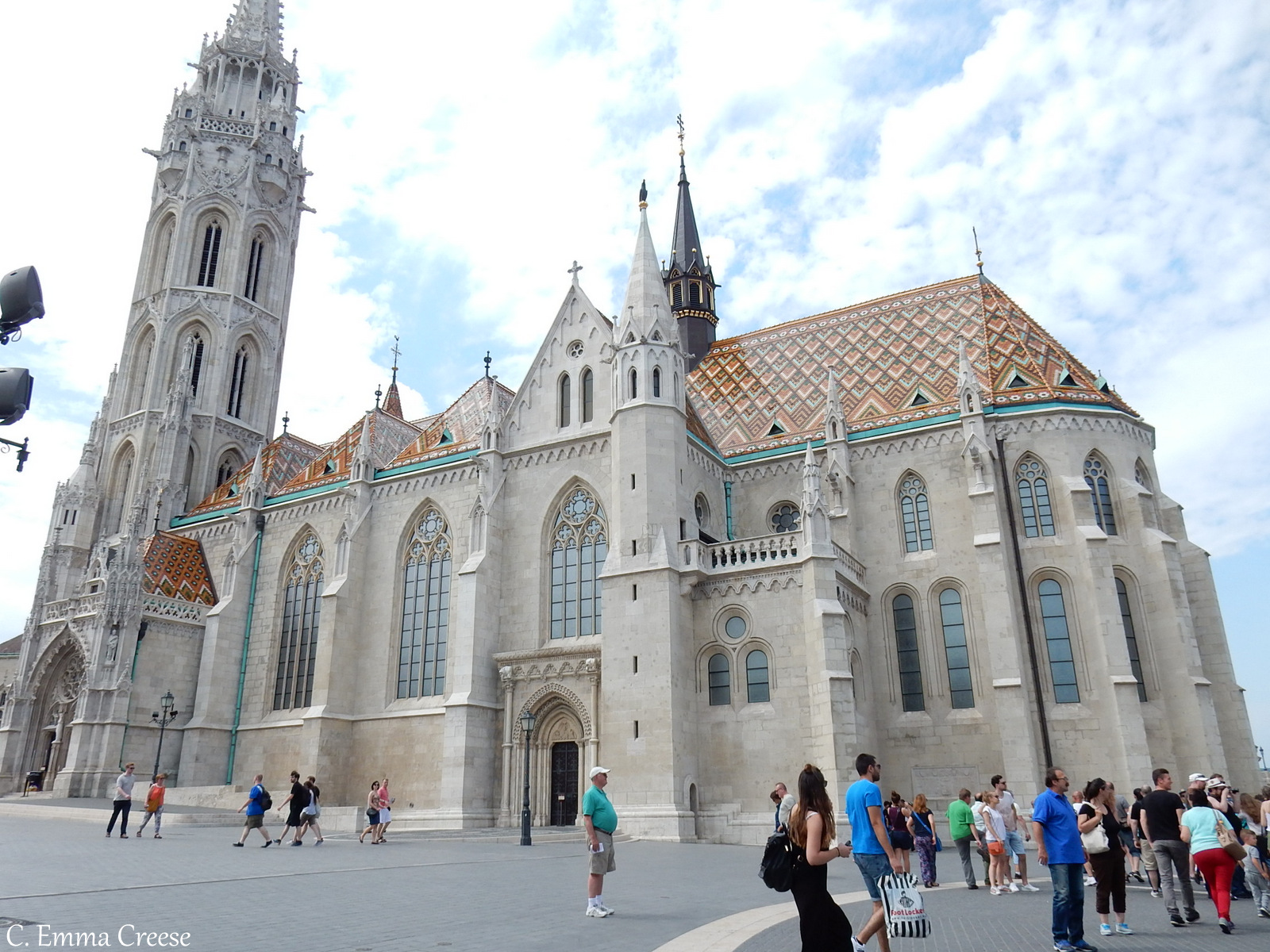 10 reasons luxury city break St Matthias Church Budapest Hungary Adventures of a London Kiwi