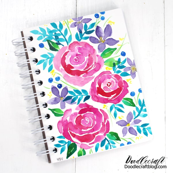 Just add a fun pen and a heartfelt note, boom! The perfect gift! My daughter and I started a traveling journal. She draws on one page, then I draw on the next...we pass it back and forth and look forward to seeing each others art or musings.