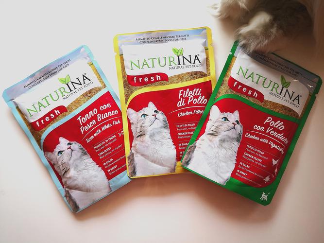 Test karmy uzupełniającej Naturina Fresh dla kota