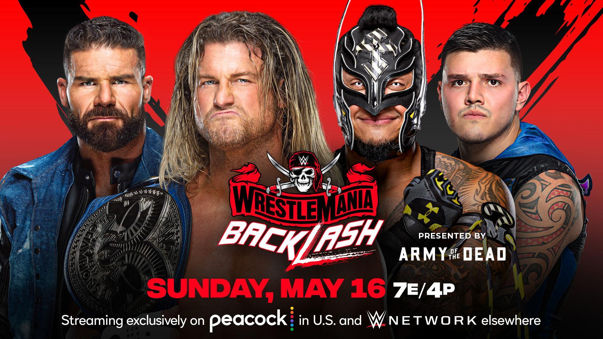 Rey e Dominik Mysterio disputarão o SmackDown Tag Team Championship no WrestleMania Backlash