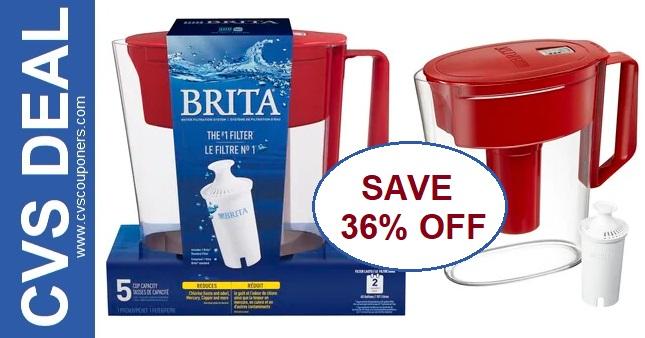 Brita Water Pitcher Coupons & Deal at CVS