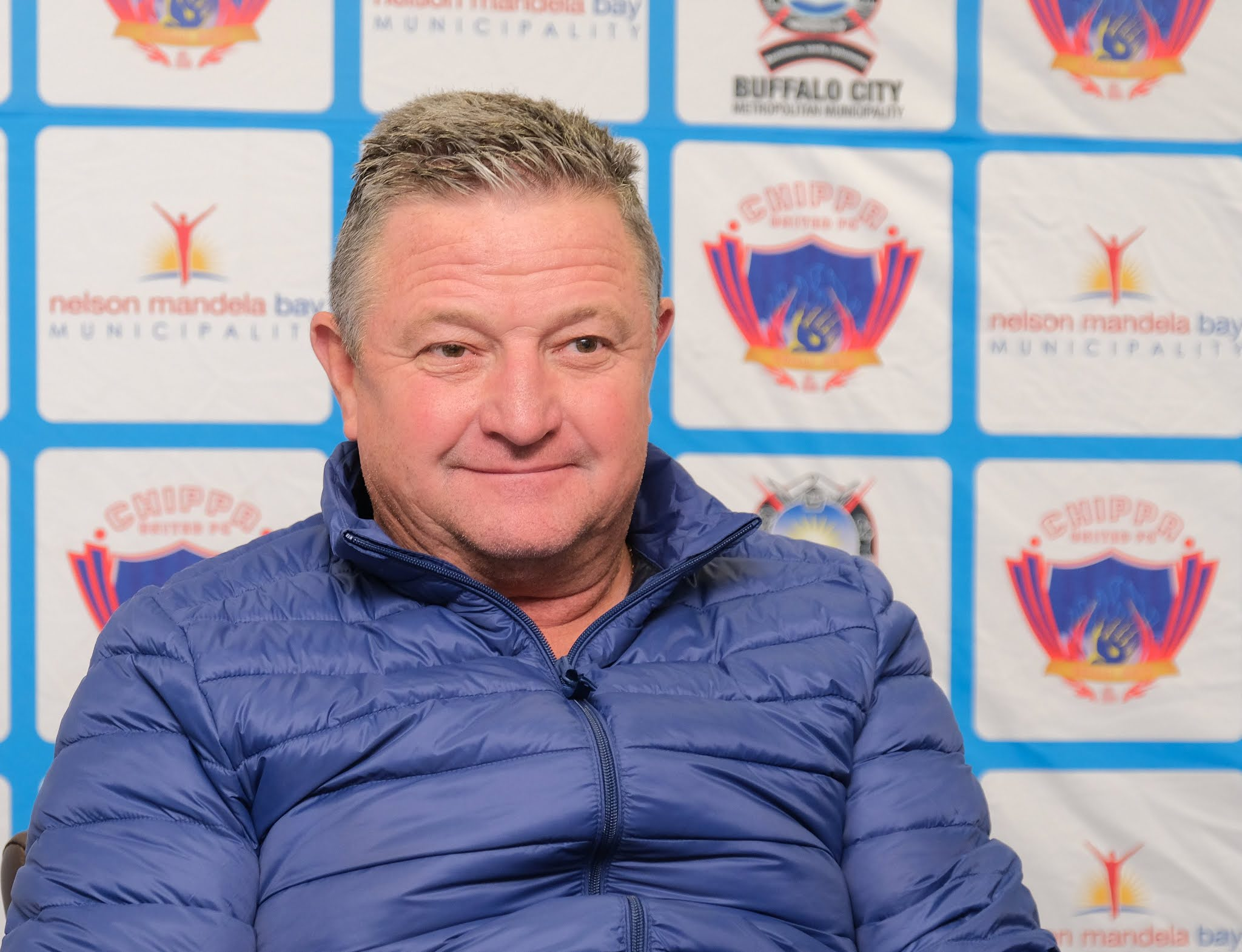 Newly-appointed Chippa United manager Gavin Hunt