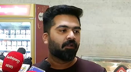 Actor Simbu meets village and town people