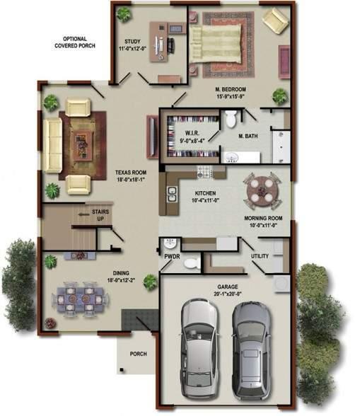 Modern Home Design October 2012: Modern House Floor Plans