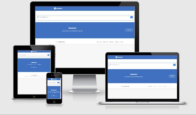 Template Gratis SafelinKu Versi 4 Untuk Platform Blogger