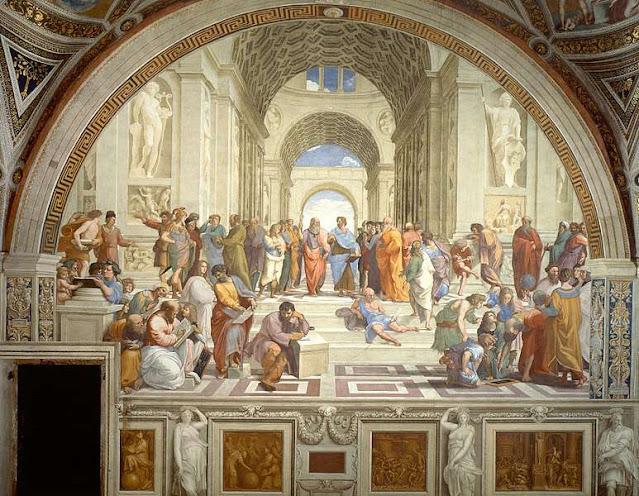 Αριστοτέλης και Πλάτωνας στο Γαλλικό Κοινοβούλιο! Εδώ;
