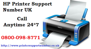 HP Printer Support Number UK