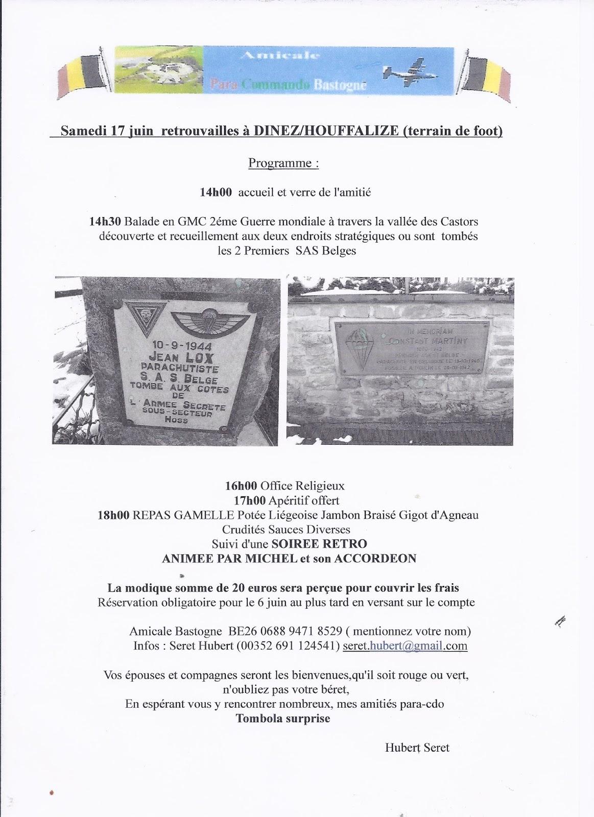 Ne Pas Oublier De Venir Nous Rendre Visite Ce Dimanche 21 Mai La Marche ADEPS WARTET