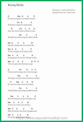 chord ruang rindu band letto