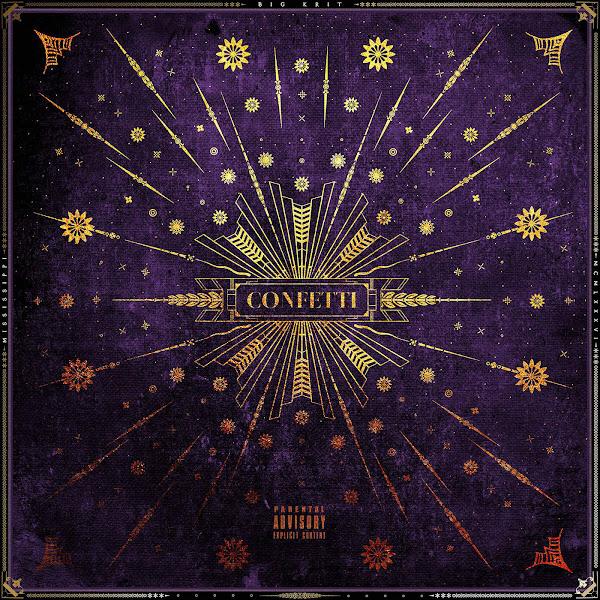 Big K.R.I.T. - Confetti - Single Cover