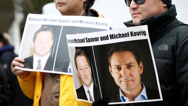 """Pekín tilda de """"irresponsables"""" los comentarios de Ottawa sobre los canadienses arrestados en China por espiar"""