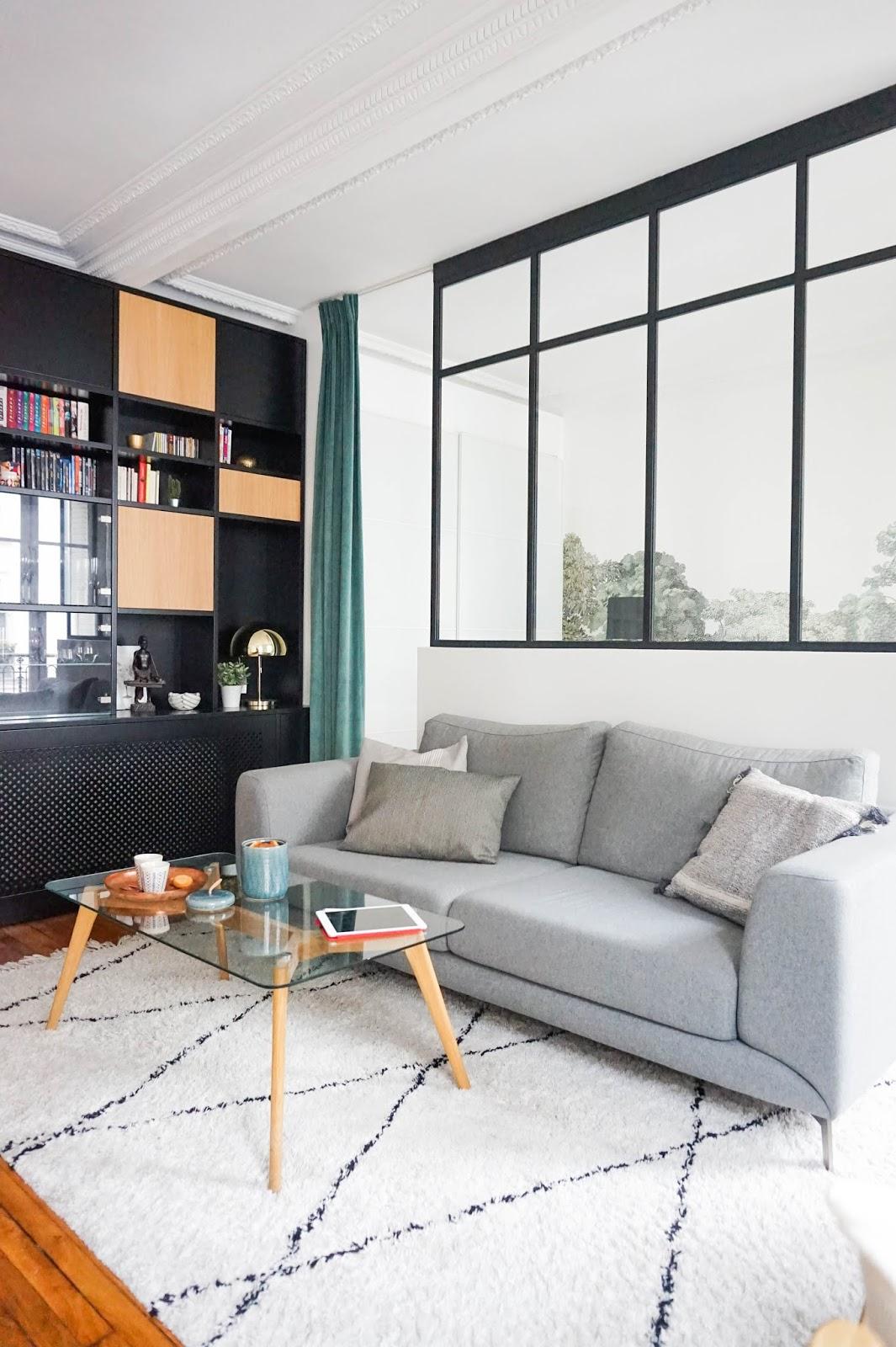 Separer Une Chambre D Un Salon adc l'atelier d'à côté : aménagement intérieur, design d