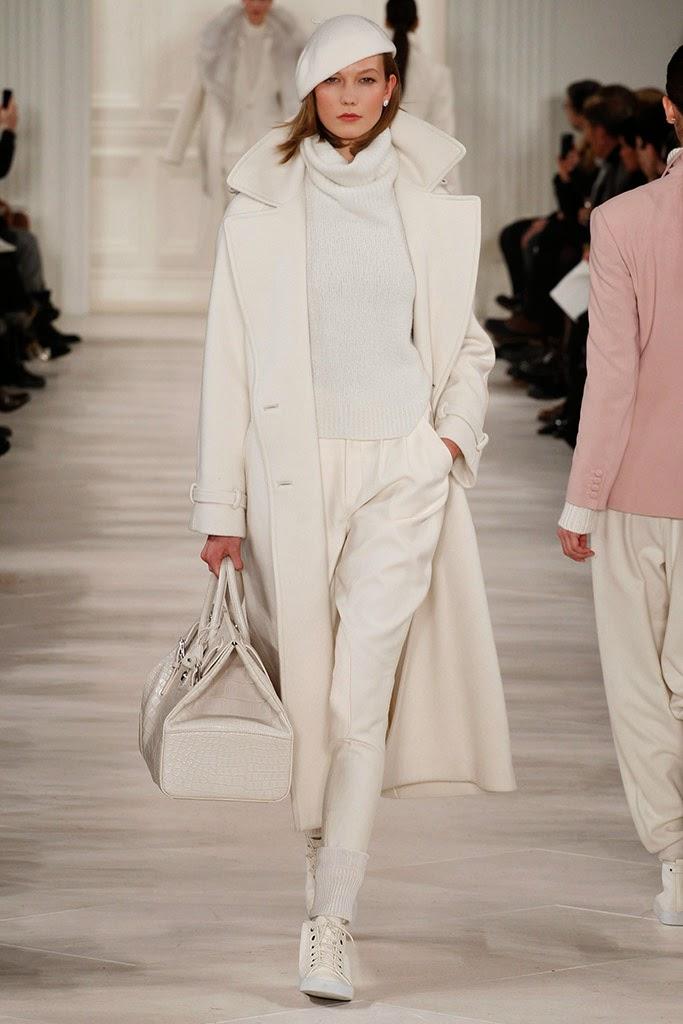 Ladies White Ralph Lauren Shoes