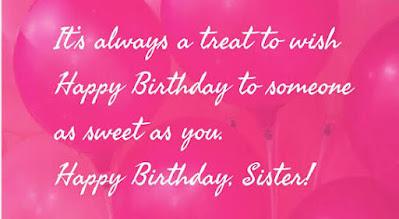 Best Birthday Status Wishes for Sister | Happy Birthday Shayari