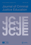 Cover of the Journal of Criminal Justice Education