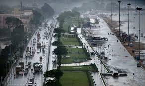 ملک کے مختلف مقامات پر شدید بارش کا سلسلہ جاری