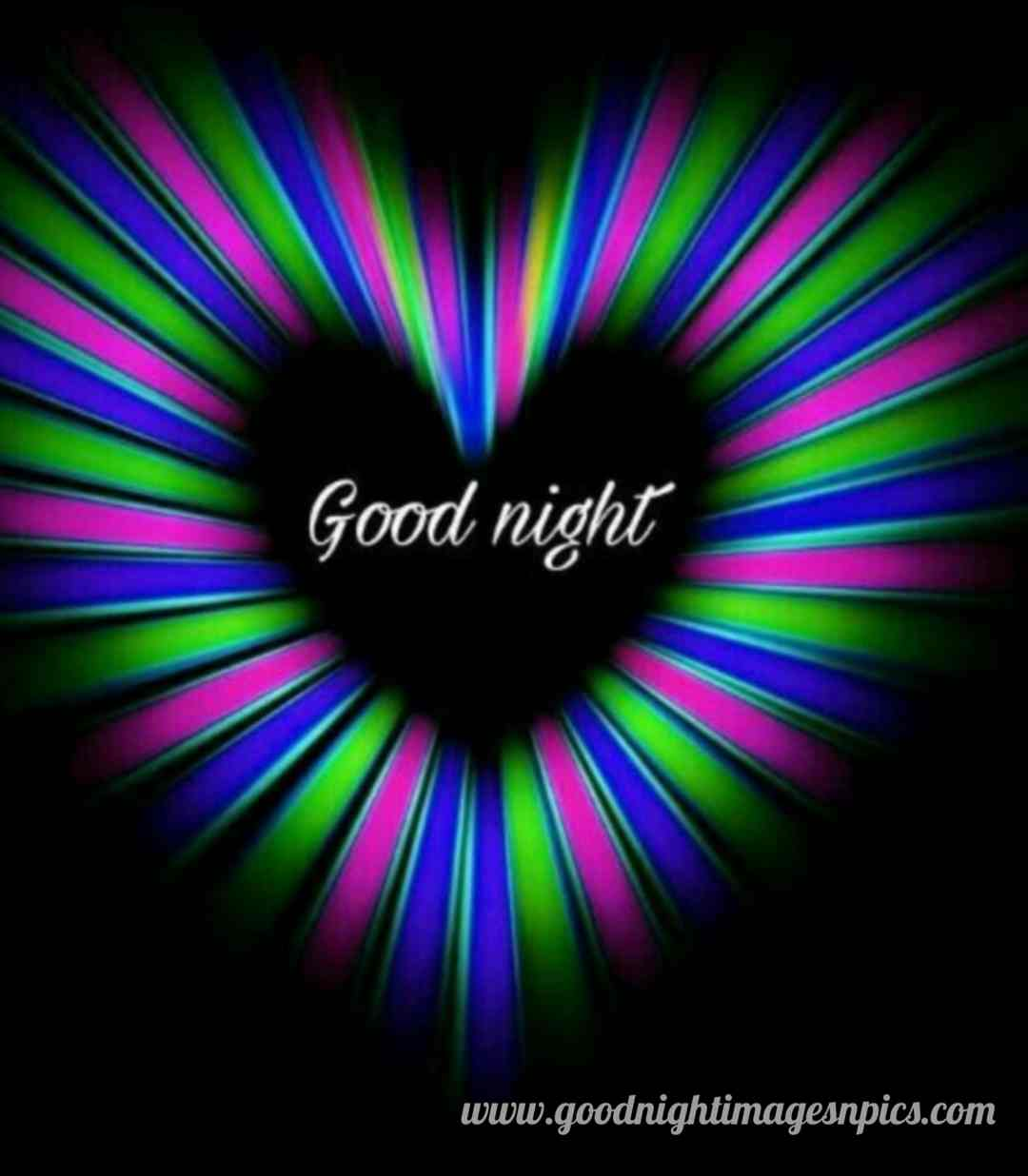 HD Good Night Heart  Images Download