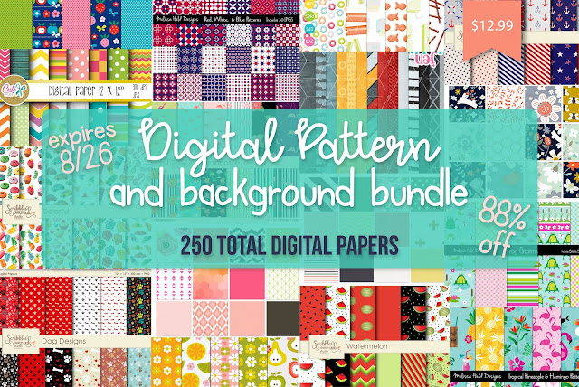 digital patterns, digital pattern projects, print and cut, pattern fills, custom patterns
