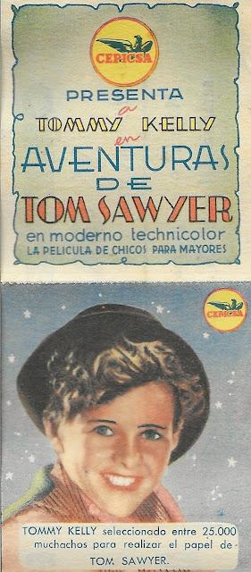 Programa de Cine - Aventuras de Tom Sawyer - Tommy Kelly - May Robson - Walter Brennan