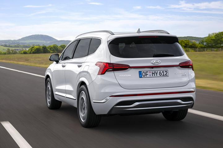 Hyundai SantaFe 2021 lột xác dù chỉ là bản nâng cấp
