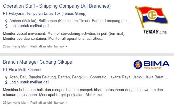 Lowongan Kerja PT Pelayaran Tempuran Emas Tbk Terbaru 2019.