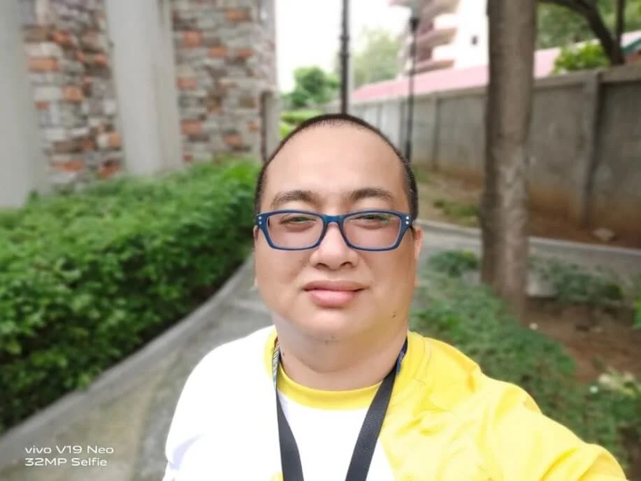 Vivo V19 Neo Camera Sample - Selfie, Portrait