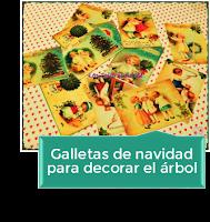 GALLETAS DE NAVIDAD PARA DECORAR EL ÁRBOL