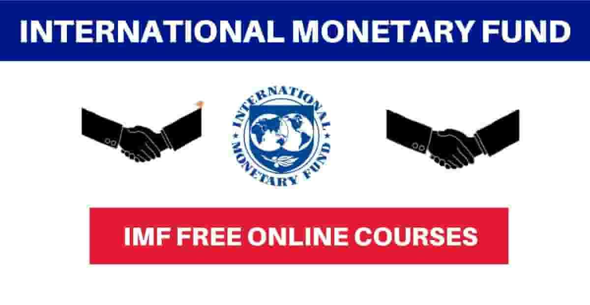 Cours Certifié de formation en ligne  du FMI 2021