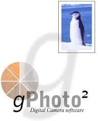 gphoto control camera
