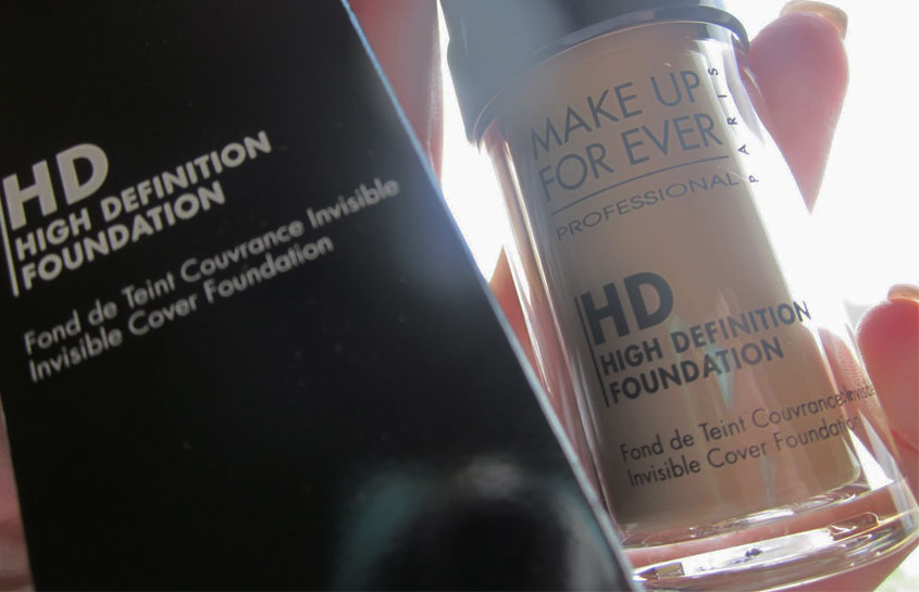 Makeup Forever HD Foundation Packaging