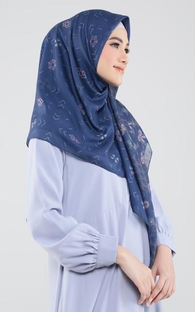 Hijab Blue