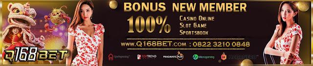 Q168bet Promo Bonus New Member 100%