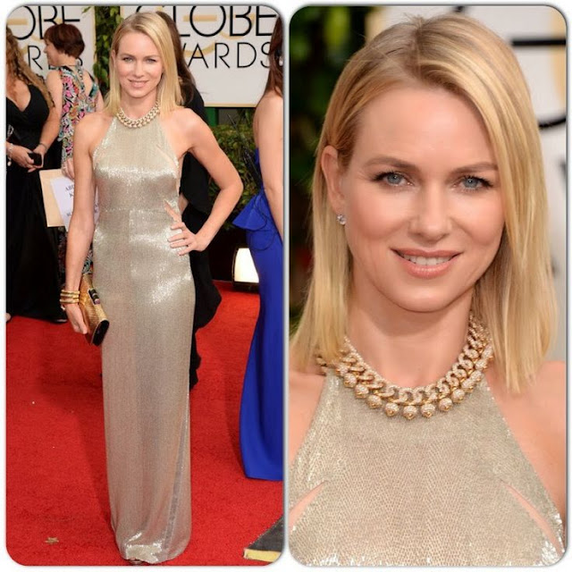 Naomi Watts in Tom Ford – 2014 Golden Globe Awards