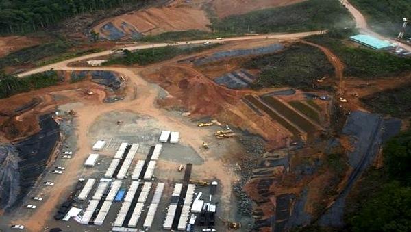 Mina de cobre en Panamá