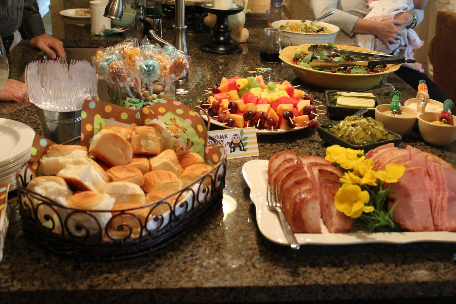 Baby Shower Food Ideas For Girl On A Budget