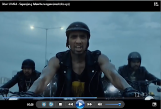 Video Lirik Iklan U mild Sepanjang Jalan Kenangan