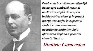 Maxima zilei: 10 martie - Dumitru Caracostea
