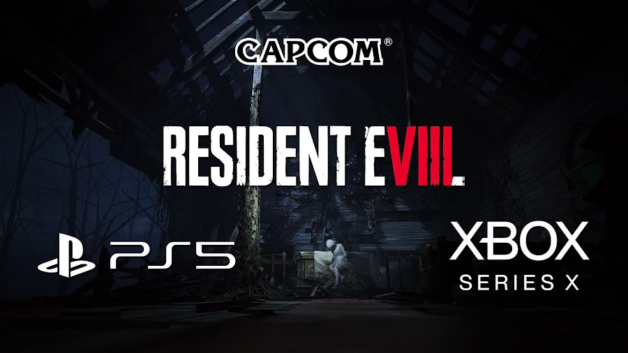 resident evil 8 cross-gen game ps5 playstation 5 xsx xbox series x capcom tease 2021 survival horror pc steam