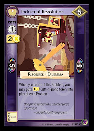 My Little Pony Industrial Revolution Marks in Time CCG Card