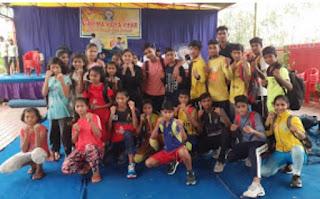 स्कूल शिक्षा विभाग अंतर्गत आयोजित 65 राज्य स्तरीय कूड़ों प्रतियोगिता हेतु जिले के खिलाड़ियों का चयन