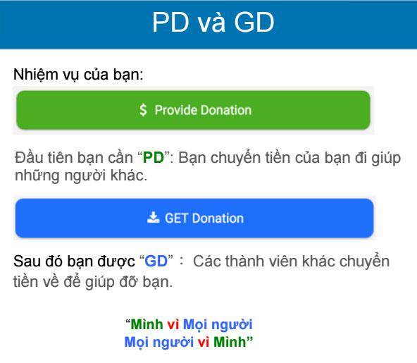 Hướng dẫn quy trình PD - GD