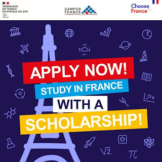 Embassy of France Masters & PhD Scholarship Programme 2021/2022 for