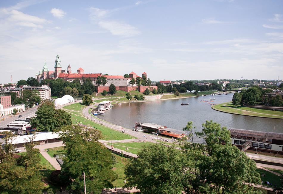restauracja Vidok | panorama Krakowa