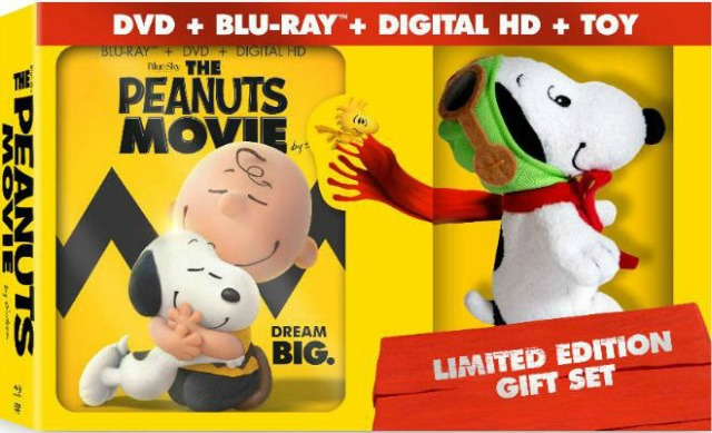 Oz the Terrier The Peanuts Movie released on Blu-ray & DVD on March 8, 2016