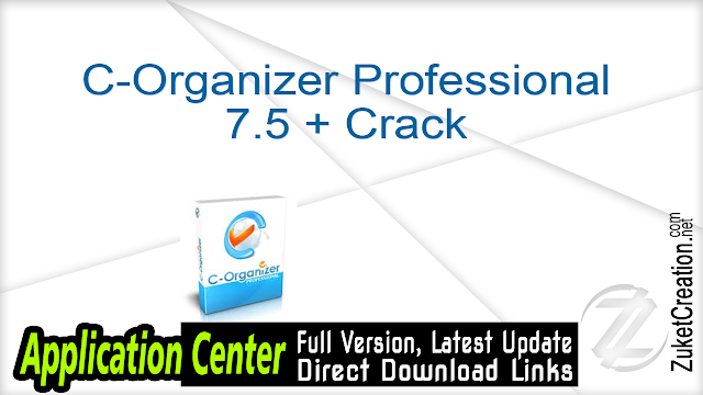 C-Organizer Professional 7.5 + Crack