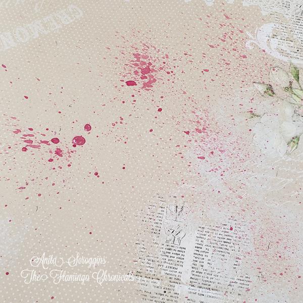 Paint splatter