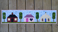 Row by Row Experience Home Sweet Home Mini Quilt