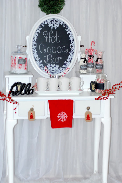 Hot Cocoa Bar ~ PRETTY TWINKLE PARTY